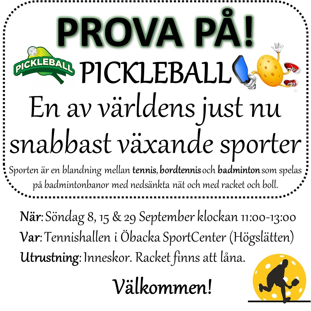Prova-På Pickleball
